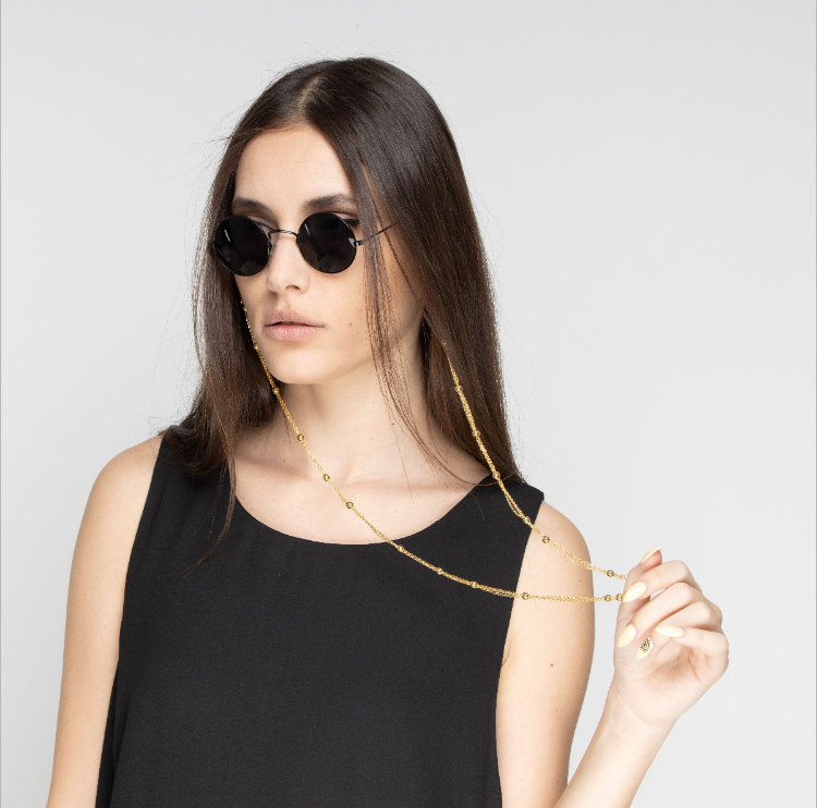 Miniballs glasses chain by Fazeena