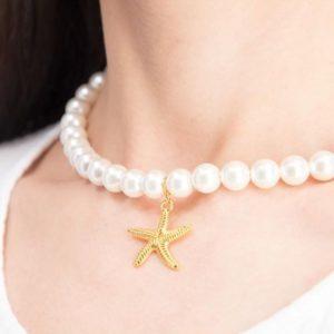 Pearl Star – Choker