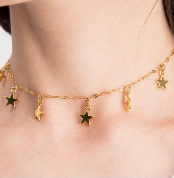 The Stars - Choker by Fazeena