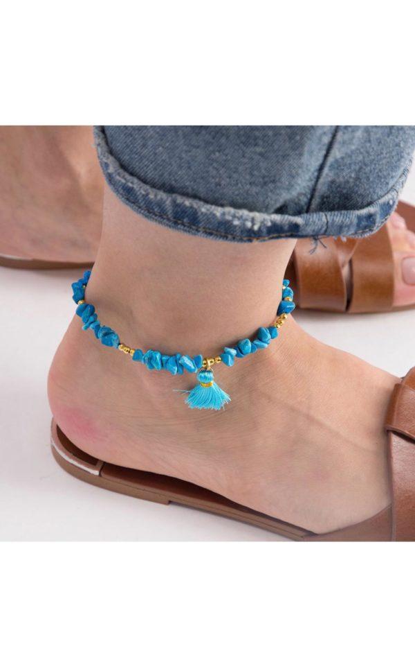 Bluebird - Anklet By Fazeena