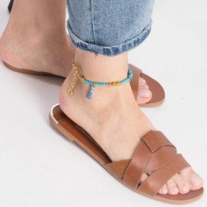 Blue Turtle – Anklet