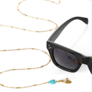 Turquoise Heart – Glasses Chain