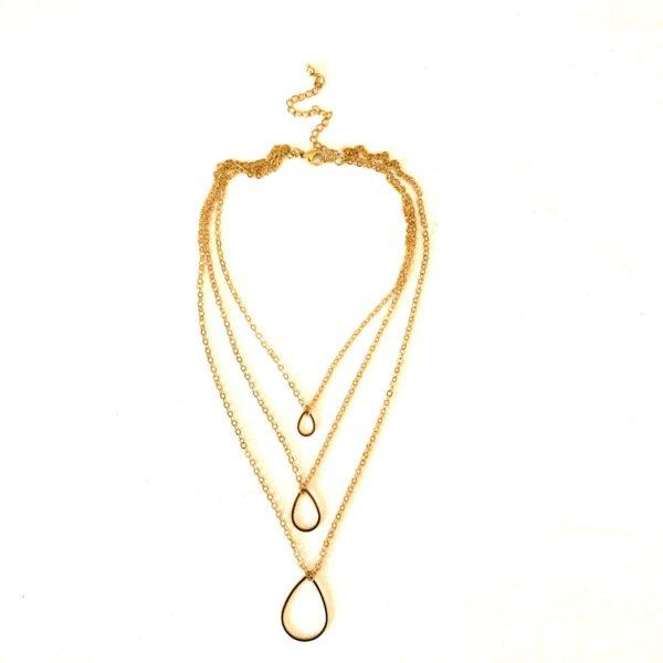 Triple Trap - Necklace By Fazeena