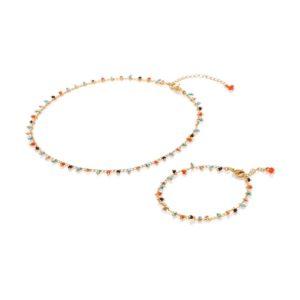 Vibrant – Necklace & Bracelet Set