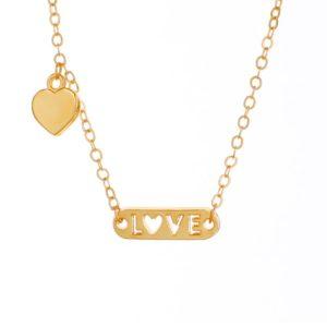 Golden Love – Choker & Bracelet Set