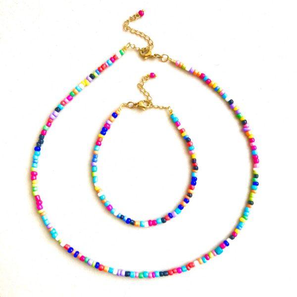 Catchy - Choker & Bracelet Set By Fazeena