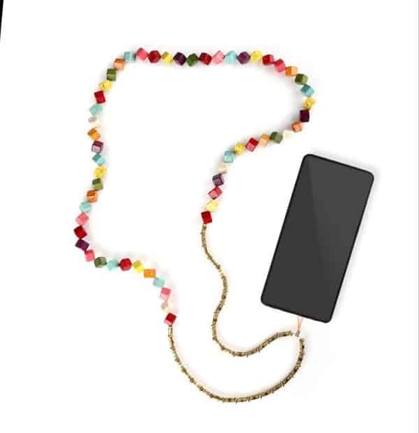 Rainbow - Mobile Strap by Fazeena
