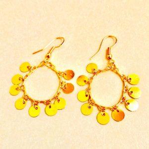 Golden Coins – Earrings