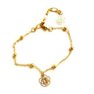 Golden Flower – Anklet