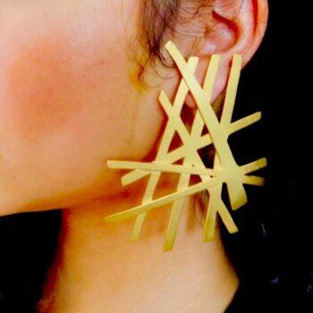 Chopsticks - Earrings By Fazeena