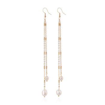 Pearl - Earrings By Fazeena
