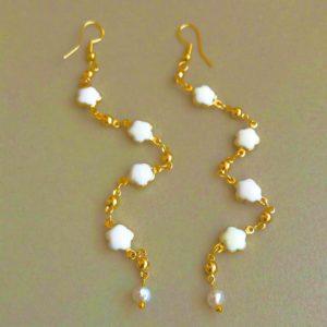 White Diamonds – Earrings