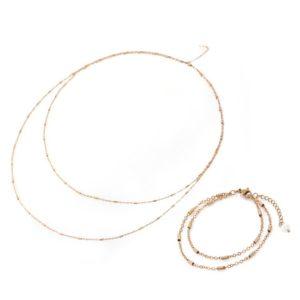 Gradually – Belly Chain & Bracelet Set