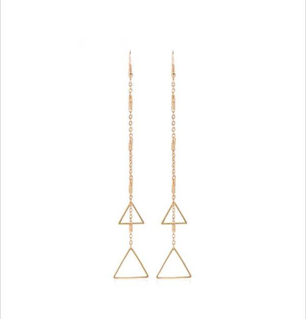 Pyramid - Earrings By Fazeena