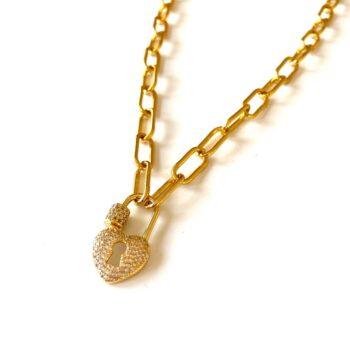 Mrs Heart - Necklace by Fazeena