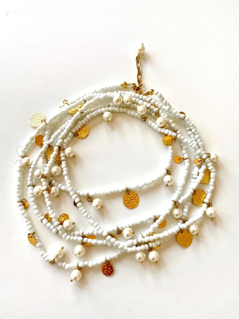 Mother of Pearls - Necklace By Fazeena