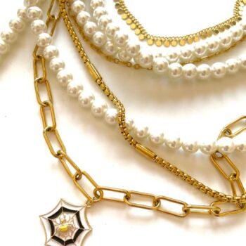 Tangled - Necklace By Fazeena