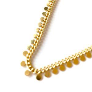 Golden Coins – Anklet