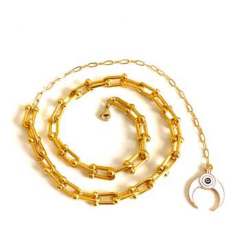 Horse necklace by Fazeena